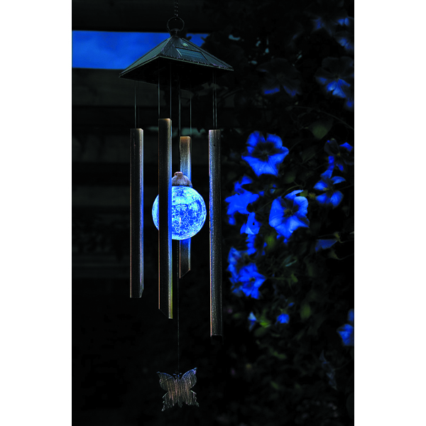 changing windchime light